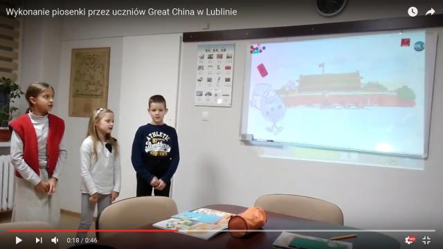 Filmiki z lekcji z naszymi uczniami