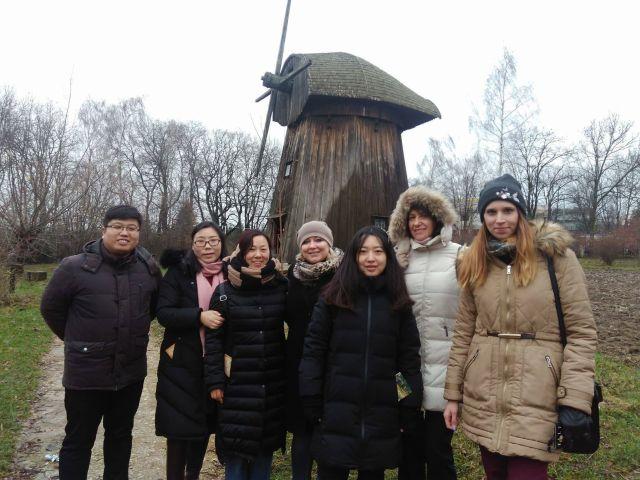 Tłumaczenie ustne podczas wizyty delegacji chińskich z prowincji Henan w Lublinie