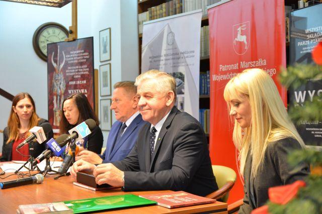 Tłumaczenie ustne podczas konferencji prasowej w związku z organizacją Międzynarodowej Wystawy Chińskiej Ceramiki w Lublinie