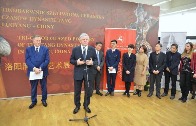 Otwarcie Międzynarodowej Wystawy Chińskiej Ceramiki w Lublinie – galeria zdjęć