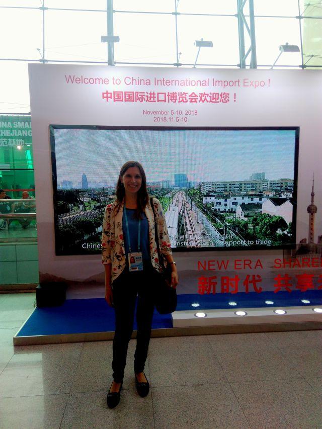 Tłumaczenie podczas Międzynarodowych Targów w Kantonie 2018